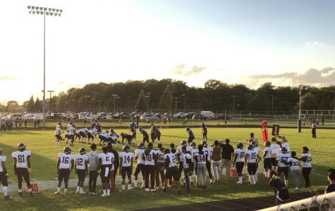 Dragons Football vs Warren Woods Tower