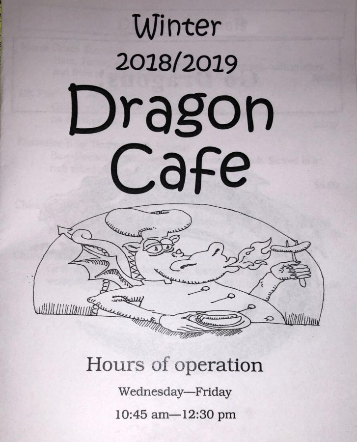 Dragon Cafe's New Menu Item
